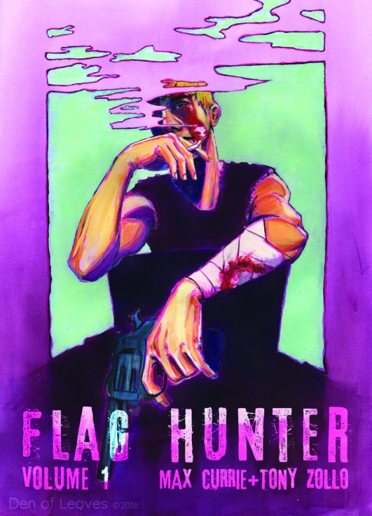 Flag Hunter Volume 1 - with title - watermarked